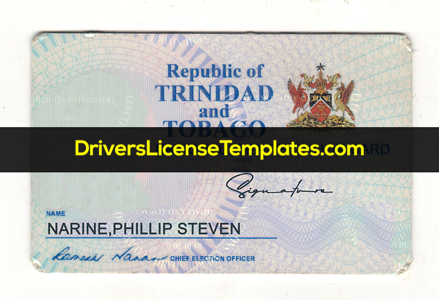 Trinidad and Tobago National Identity Card